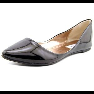 Steve Madden patent leather pointed toe flats 10